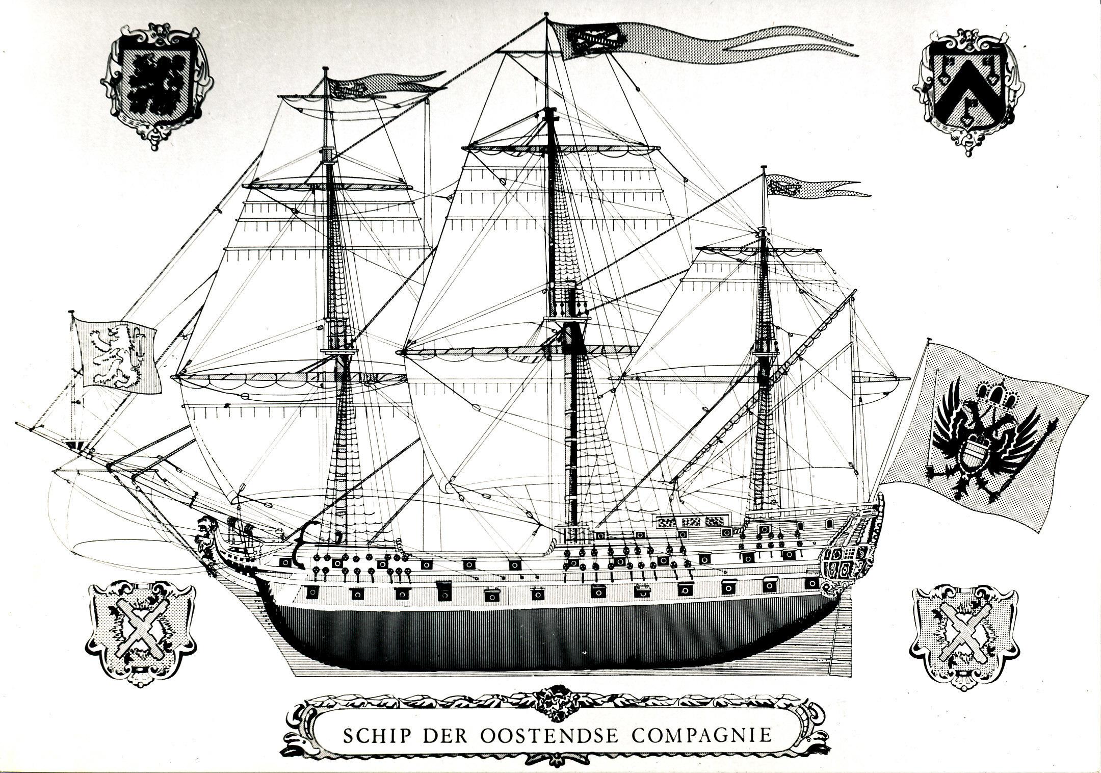 5 Schip van de Oostendse Compagnie