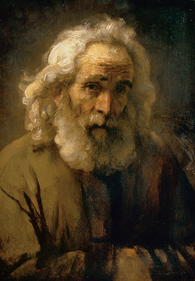 AGNES_Rembrandt Head OFAn Old Man With Curly Hair_web