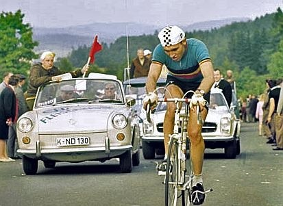 With Eddy Merckx to the Moon - the low countries