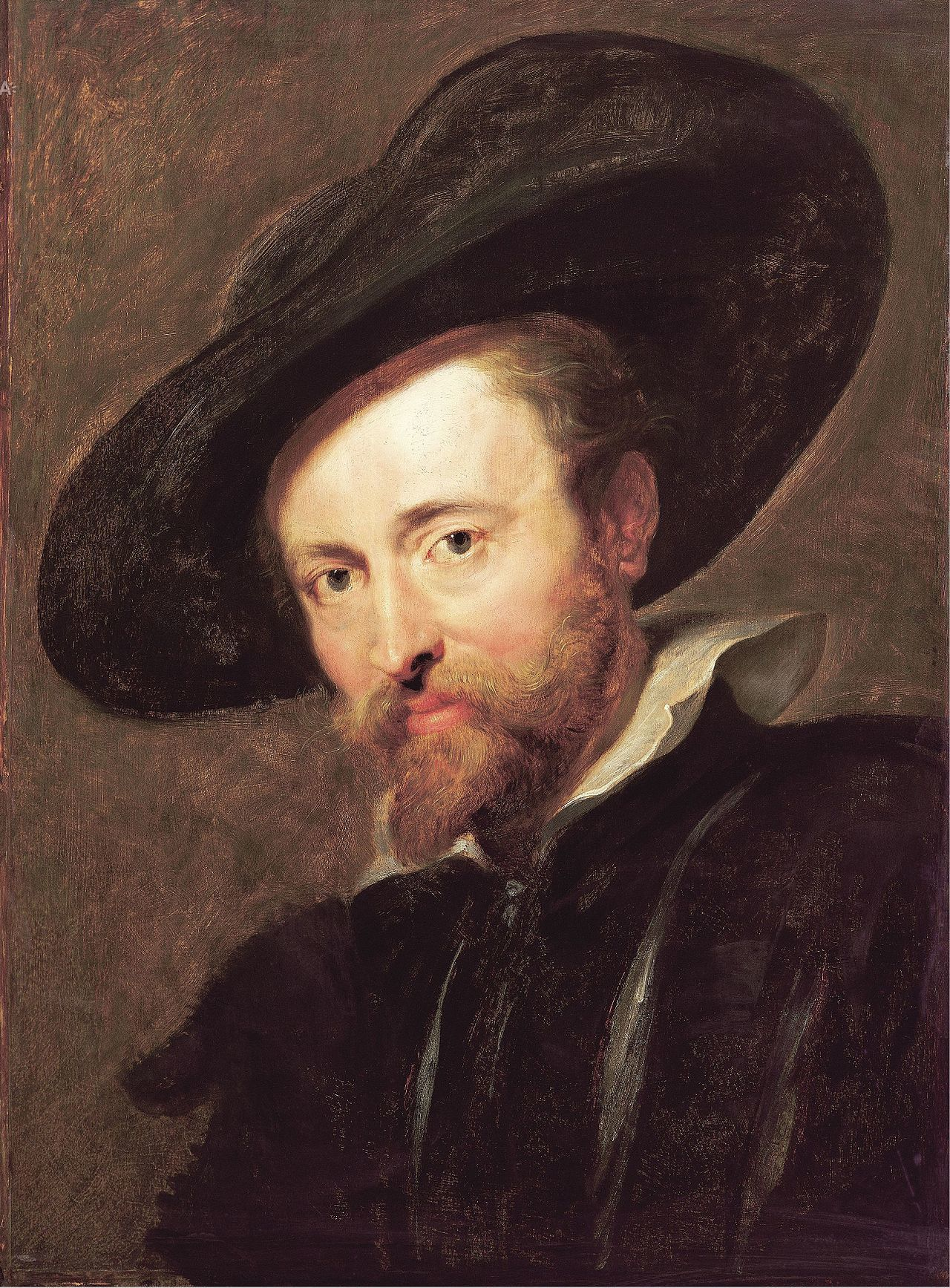 Peter Paul Rubens Self Portrait WGA20380