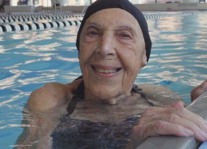 1 Holocaustoverlevende Mathilde Freund in 100 UP