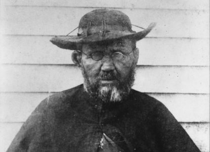 Father Damien photograph by William Brigham