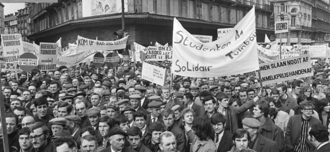 1 Boerenbetoging massa volk