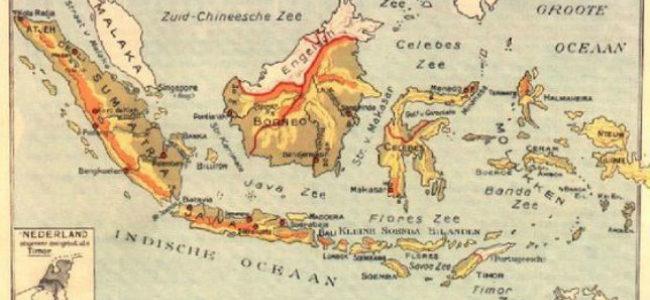 Nederlands Indië oude kaart