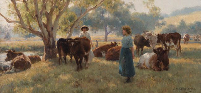 SCHELTEMA Jan Hendrik Early Morning Start Gippsland 2018 80n