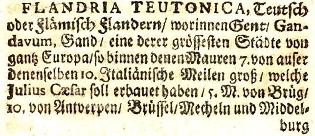 Flandriateutonica